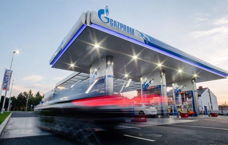 еть АЗС Gazprom