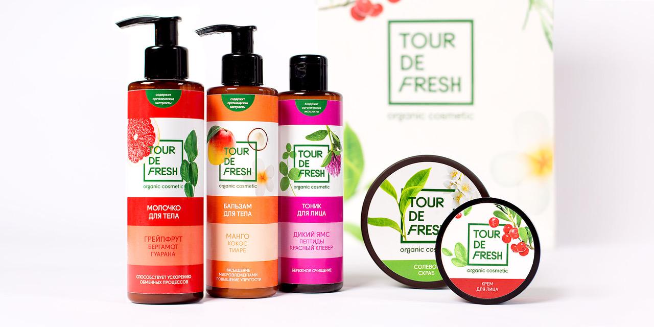 Разработка дизайна упаковки Tour De Fresh