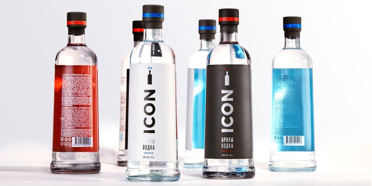 Колористика бренда ICON