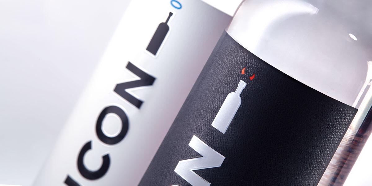 Упаковка водки ICON