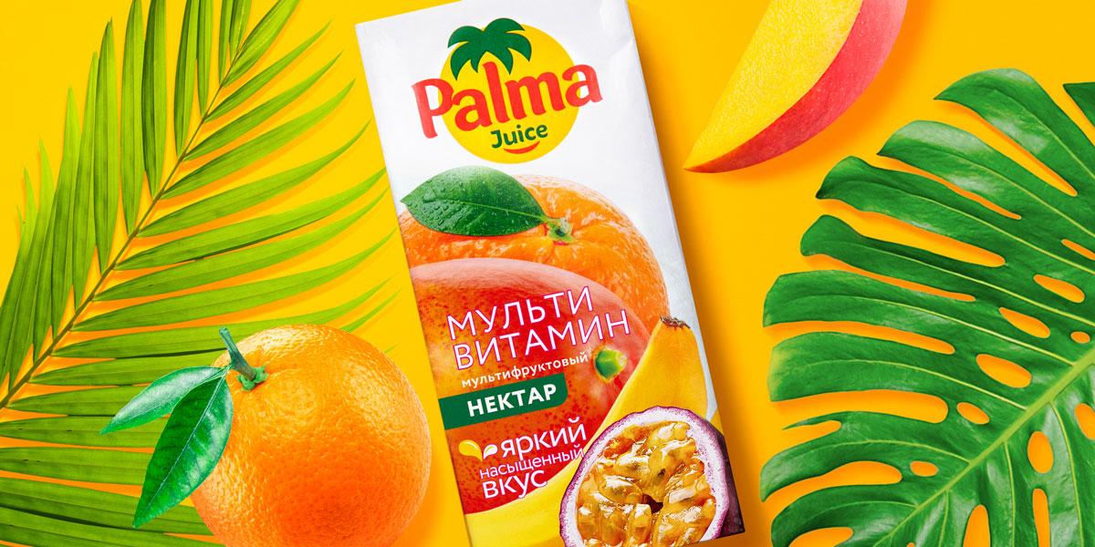 Новая упаковка Palma