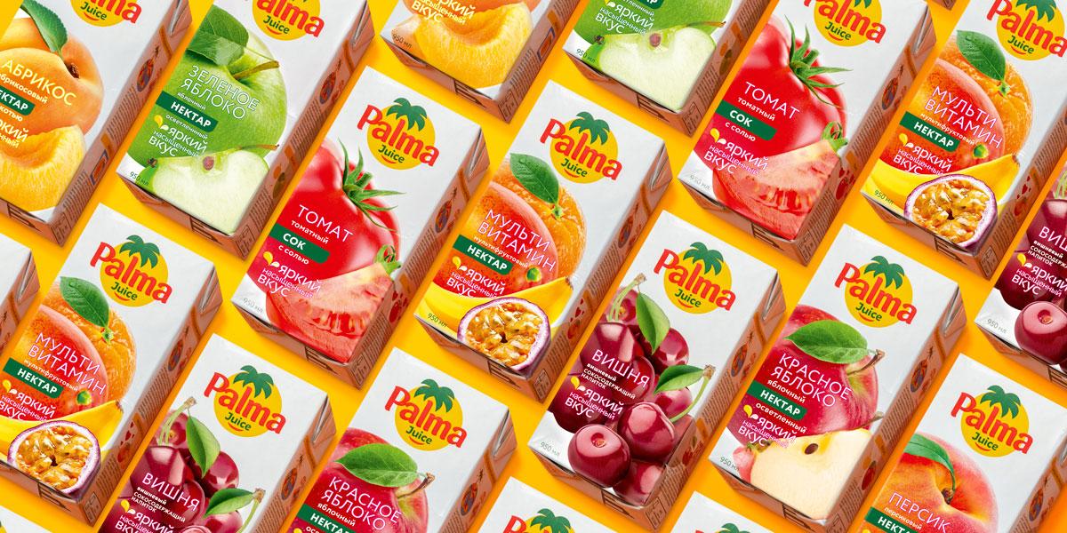 Вкусы Palma