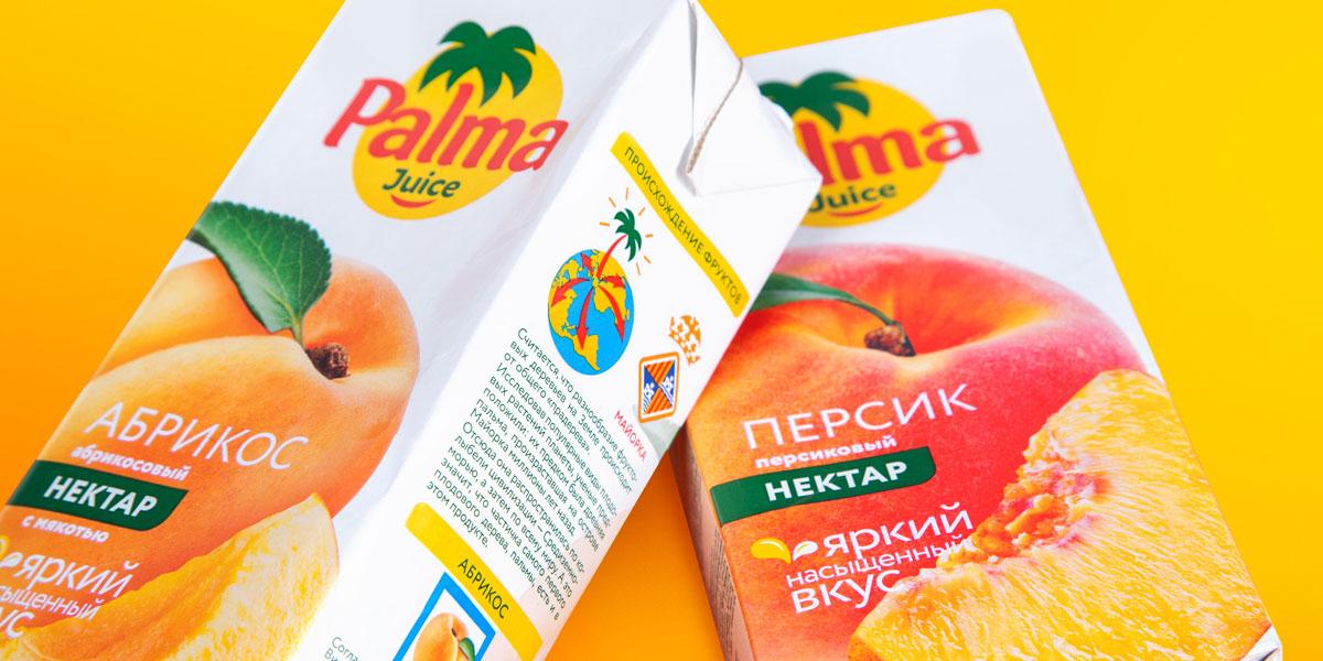 Palma — яркий насыщенный вкус