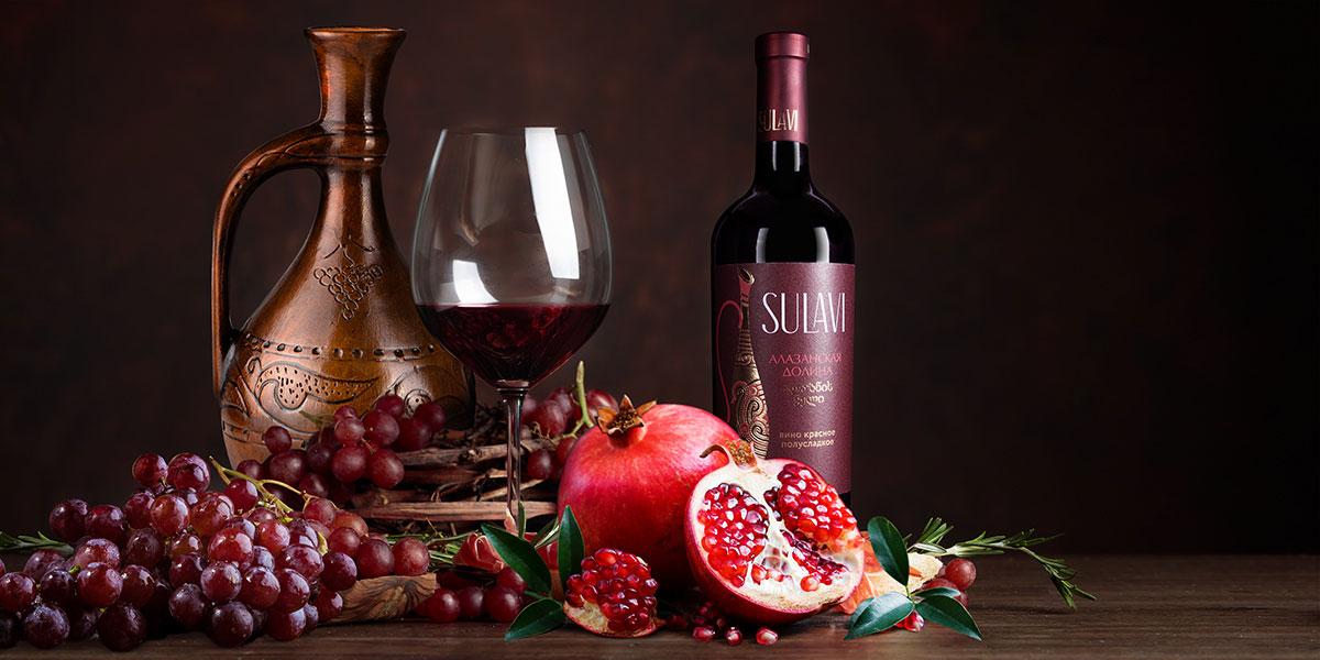 Оформление бутылки Sulavi