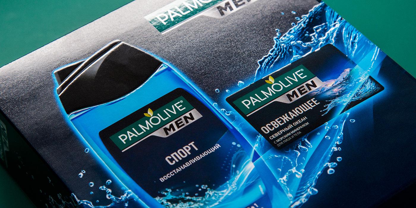 Дизайн упаковки Palmolive Men