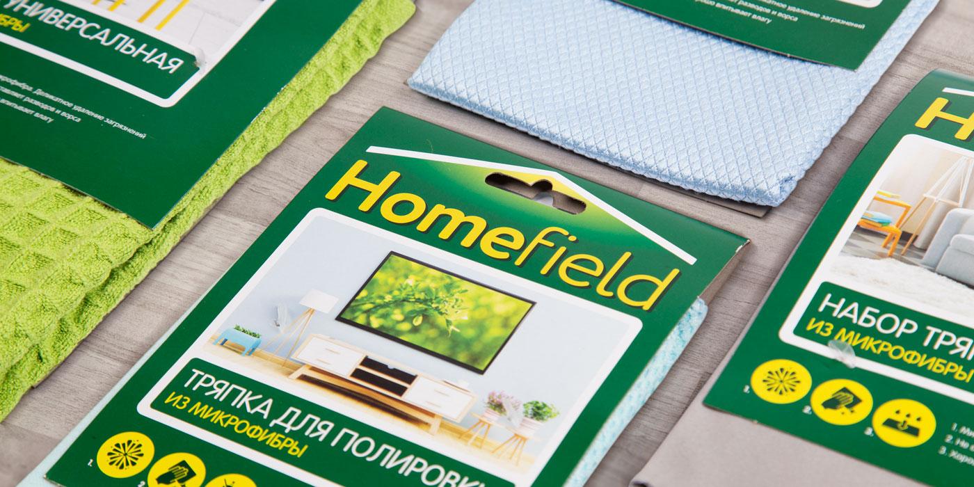 Концепция бренда Homefield